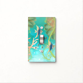 Cute Under the Sea Tropical Design Light Switch Cover