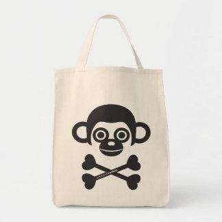 Cute unfinished monkeys bag