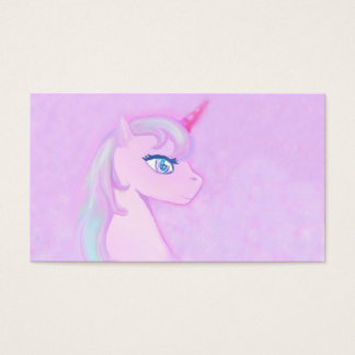 cute unicorn Business Card