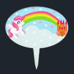 """cute unicorn Cake Pick<br><div class=""""desc"""">cute unicorn Cake Pick</div>"""