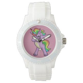 Cute Unicorn Dabber Dance Wristwatch