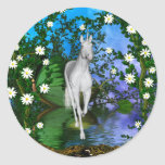 Cute Unicorn Fantasy 1 Sticker