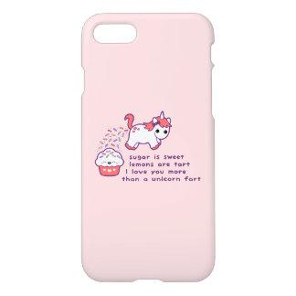Cute Unicorn Fart iPhone 8/7 Case