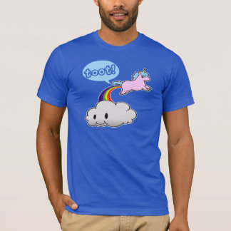 Cute! Unicorn Fart... Toot! T-Shirt