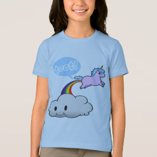 Cute! Unicorn Fart... Toot! T-Shirt