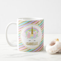 Cute Unicorn Hot Chocolate Mug for Kids