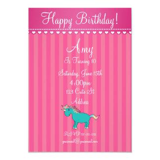 Cute unicorn invitation