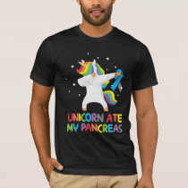 Cute Unicorn Pancreas Diabetic Kid T-Shirt