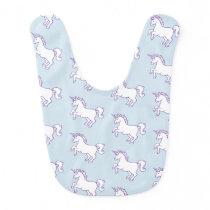 Cute Unicorn Pattern Bib