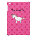 Cute unicorn pink butterflies case for the iPad mini