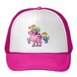 cute unicorn pony mesh hat