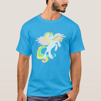 CUTE UNiCORN SHIRT Unicorn pegasus shirt in BLUE