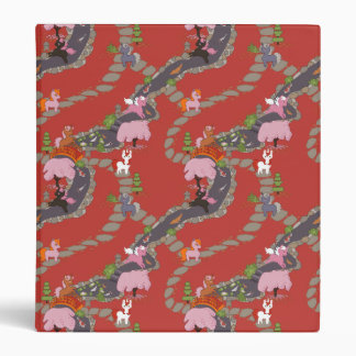 Cute Unicorns in Japanese Garden Binder
