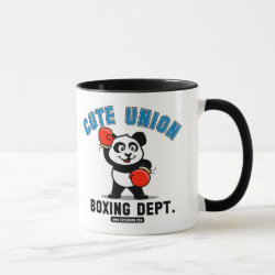 Combo Mug with Cute Union Boxing Department design