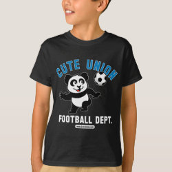 Kids' Hanes TAGLESS® T-Shirt with Cute Union Football Department design