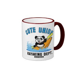 Cute Union Kayaking Department Coffee Mug