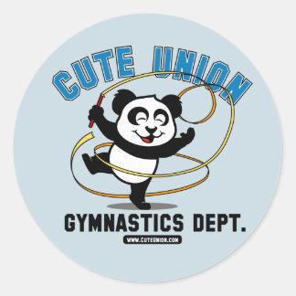 Cute Union Rhythmic Gymnastics Department Stickers