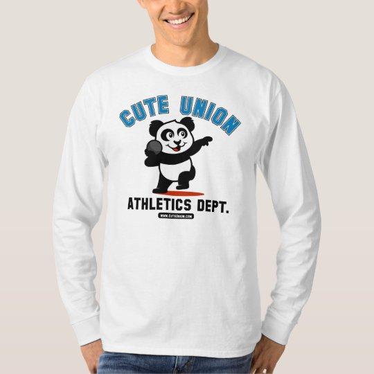Cute Union Shot Put Panda T-Shirt