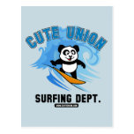 Cute Union Surfing Department Post Cards