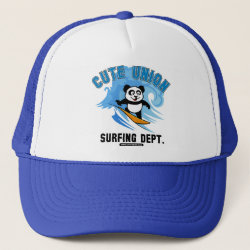 Cute Union Surfing Dept Trucker Hat
