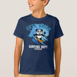 Cute Union Surfing Dept Kids' Hanes TAGLESS® T-Shirt