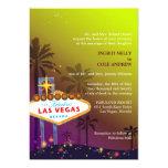 """Cute, Unique Viva Las Vegas Wedding Invites 5"""" X 7"""" Invitation Card"""