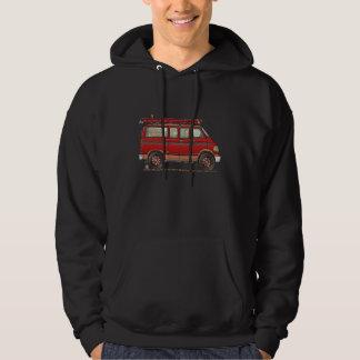 Cute Utility Pickup Hooded Sweatshirts