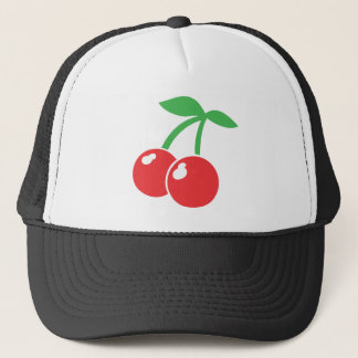 Cute Valenine's Day Cherries Trucker Hat