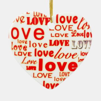 Cute Valentine Heart Ornament for Valentine gift