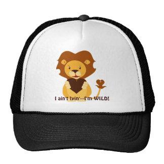 Cute Valentine Lione Trucker Hat