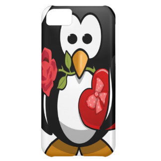 Cute Valentine s Day Penguin Funny Cartoon iPhone 5C Covers
