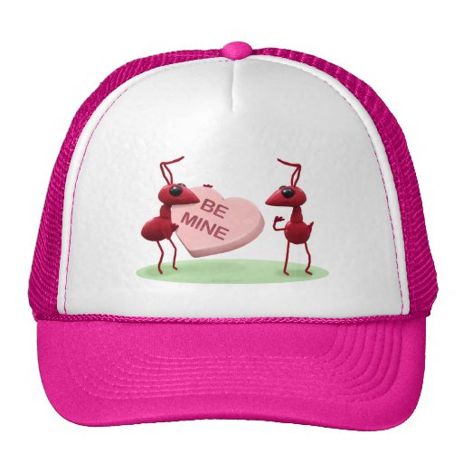 Cute Valentines' Day Ants Trucker Hat