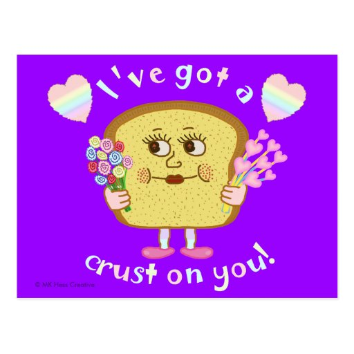 Bread Pun Valentine