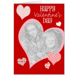 Cute Valentine's Day Card, Photo Card