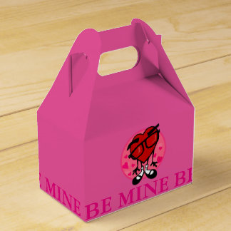 cute valentines day heart be mine gable favor box - Cute Valentines Day Boxes