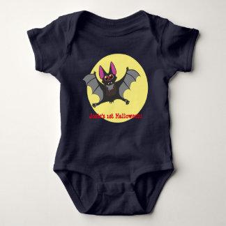 Cute vampire bat baby bodysuit