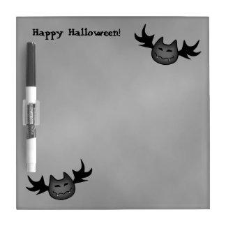 Cute vampire bat Happy Halloween Dry-Erase Board