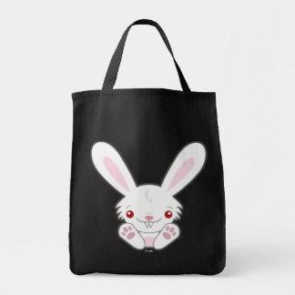 Cute Vampire Bunny Rabbit White - Kawaii Bags