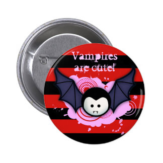 Cute Vampire Button