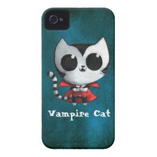 Cute Vampire Cat iPhone 4 Case