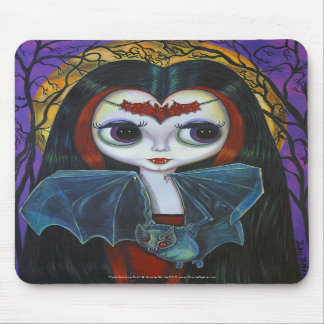Cute Vampire Doll Mousepad