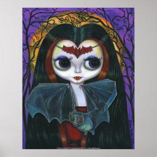 Cute Vampire Doll Poster