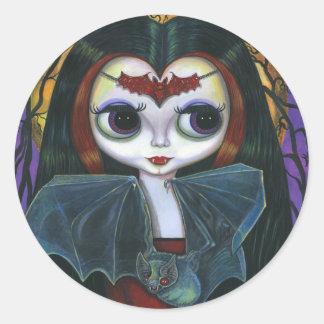 Cute Vampire Doll Sticker