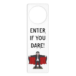 Cute Vampire Door Hanger