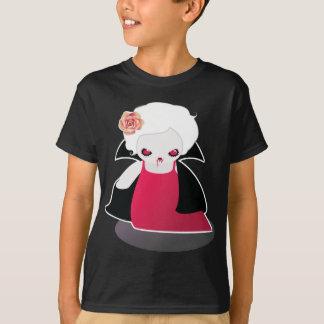 Cute Vampire Halloween Shirt - Girls shirt