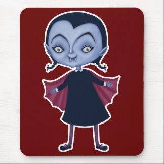 cute vampire school girl mouse pad