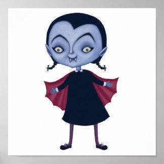 cute vampire school girl posters