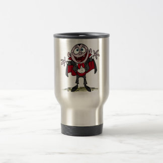 cute vampire travel mug