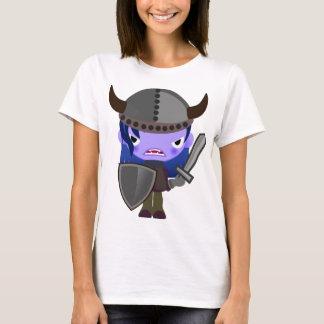 Cute Vampire Viking Girl Purple Dracula T-shirt