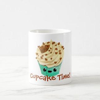 Cute Vanilla Chocolate Cupcake Coffee Mug